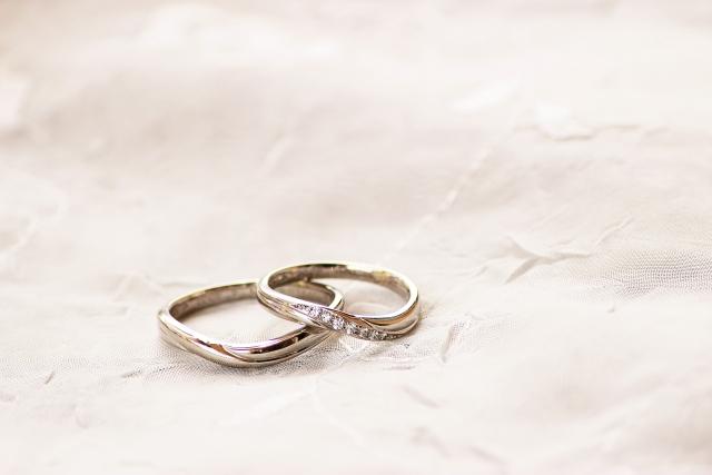 宝石がついた指輪